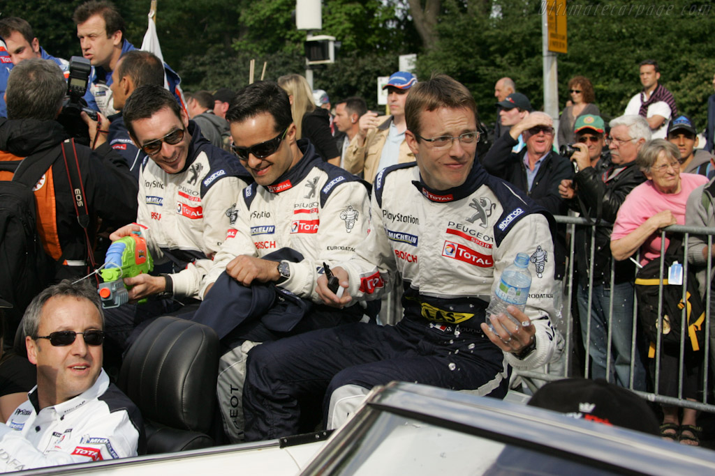 Peugeot drivers    - 2011 24 Hours of Le Mans