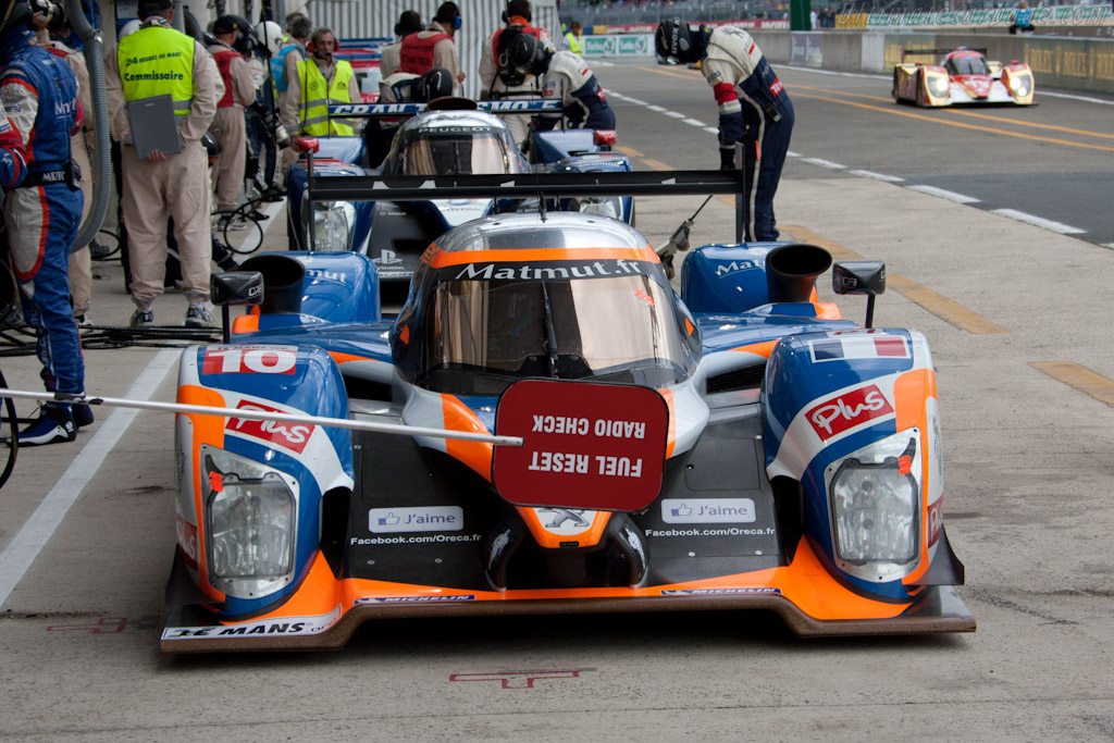Peugeot old and new - Chassis: 908-10   - 2011 24 Hours of Le Mans