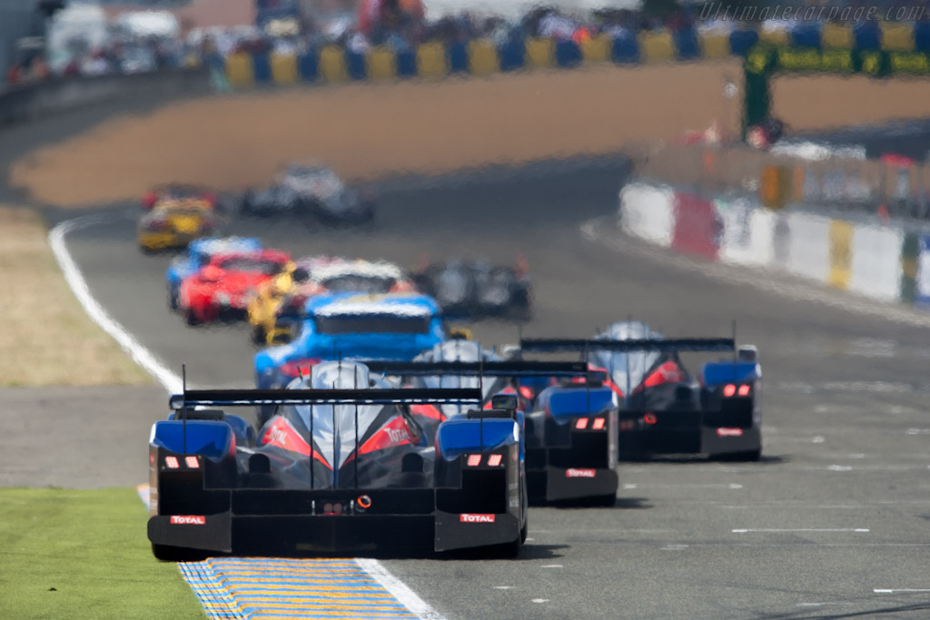 Peugeots - Chassis: 908-04   - 2011 24 Hours of Le Mans
