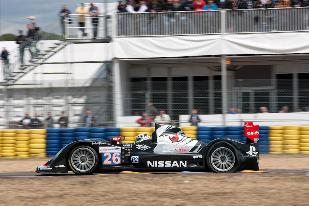Puncture - Chassis: 05   - 2011 24 Hours of Le Mans