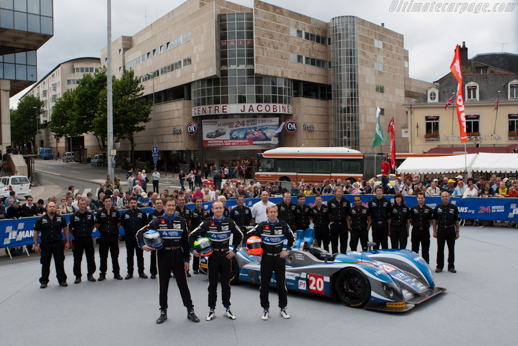 Quifel-ASM - Chassis: 09S-05   - 2011 24 Hours of Le Mans