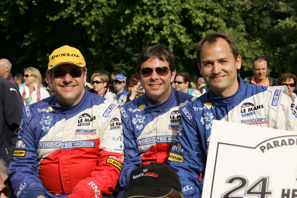 RML drivers    - 2011 24 Hours of Le Mans