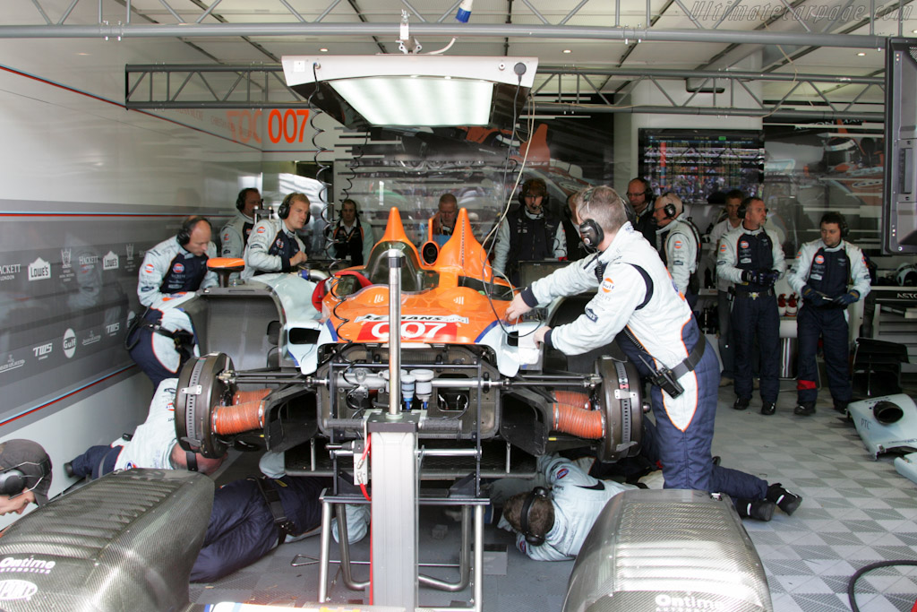 Repairs were in vain - Chassis: 1   - 2011 24 Hours of Le Mans