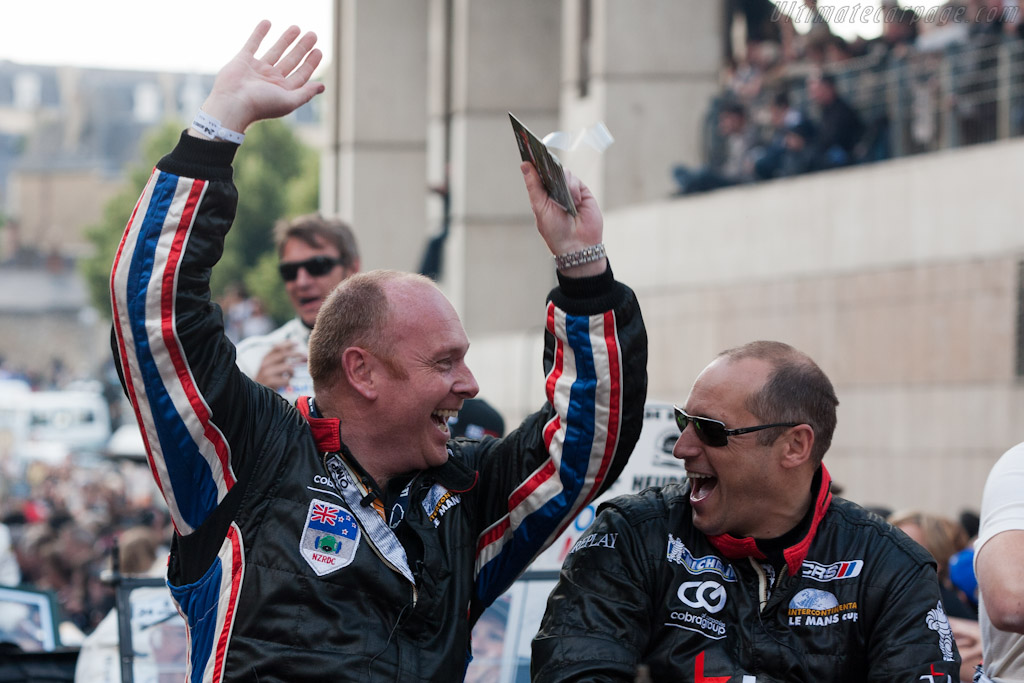 Rogers Wills and Shaun Lynn    - 2011 24 Hours of Le Mans