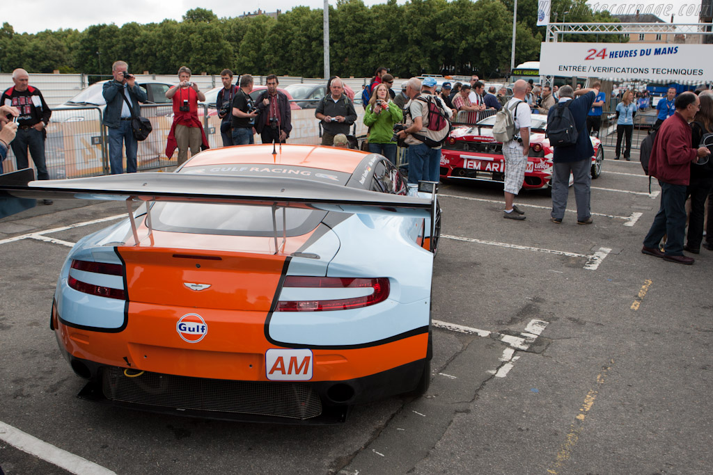 Start of scrutineering - Chassis: GT2/009   - 2011 24 Hours of Le Mans