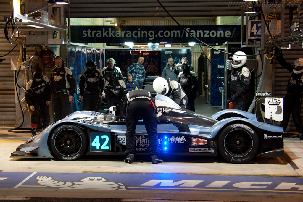 Strakka stop - Chassis: LC70-9   - 2011 24 Hours of Le Mans