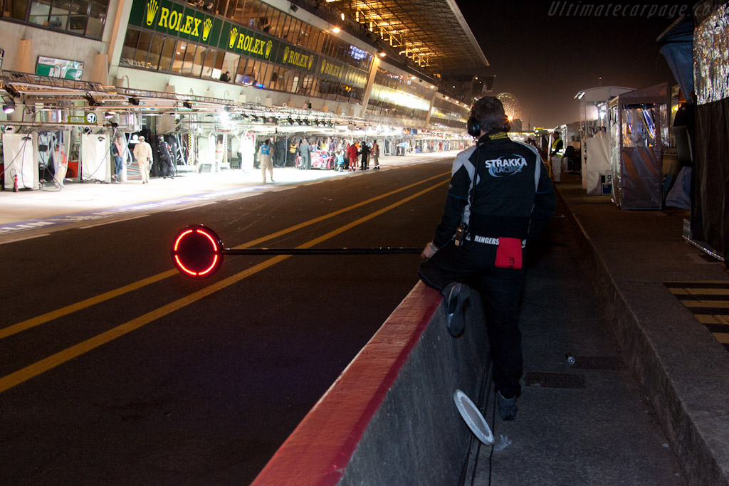 Strakka stop    - 2011 24 Hours of Le Mans