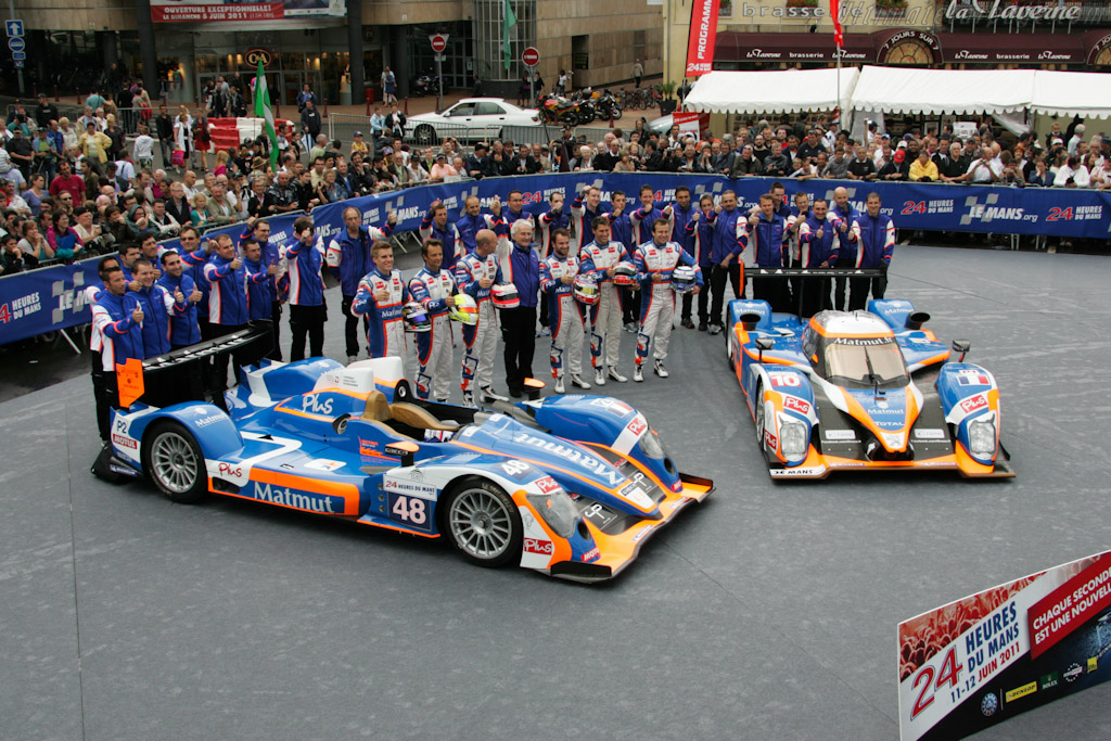 Team Oreca Matmut - Chassis: 01   - 2011 24 Hours of Le Mans