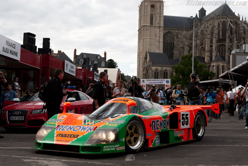 The 787B leads the parade - Chassis: 787B - 002   - 2011 24 Hours of Le Mans