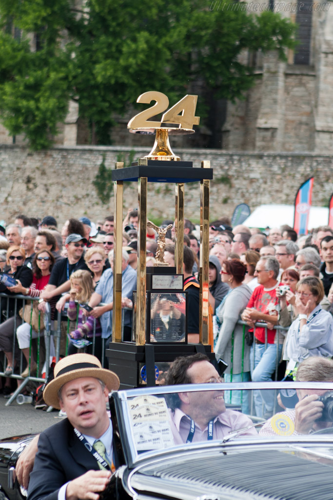 The trophy    - 2011 24 Hours of Le Mans