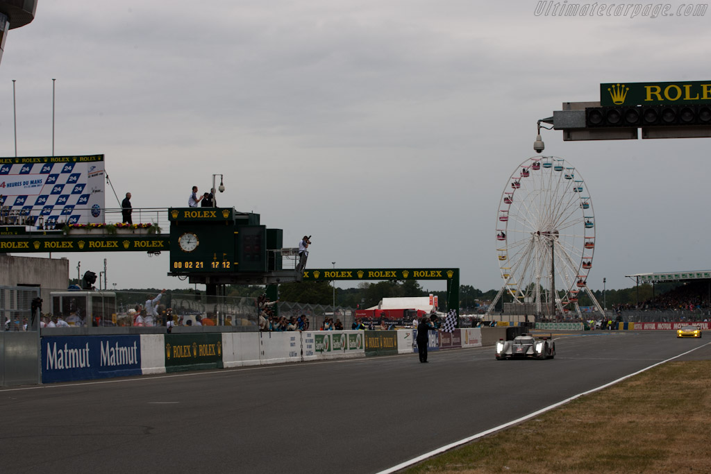 The winner - Chassis: 106   - 2011 24 Hours of Le Mans