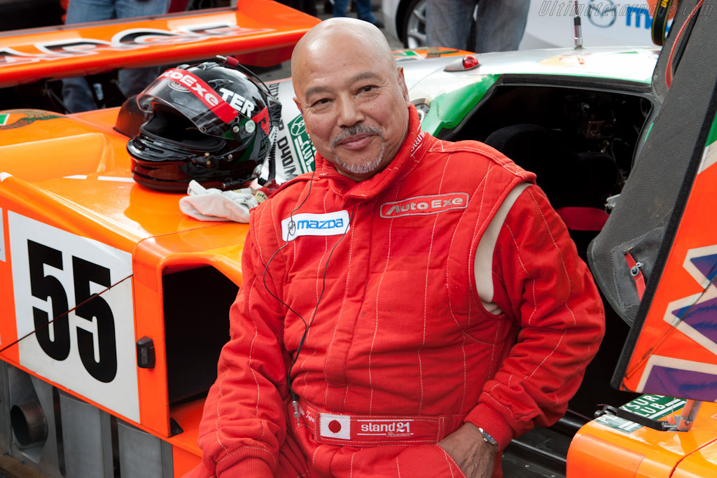Yojiro Terada with the 787B - Chassis: 787B - 002   - 2011 24 Hours of Le Mans
