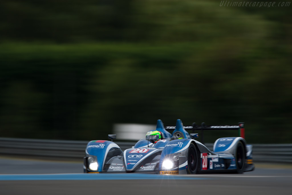 Zytek 09S - Chassis: 09S-05  - 2011 24 Hours of Le Mans
