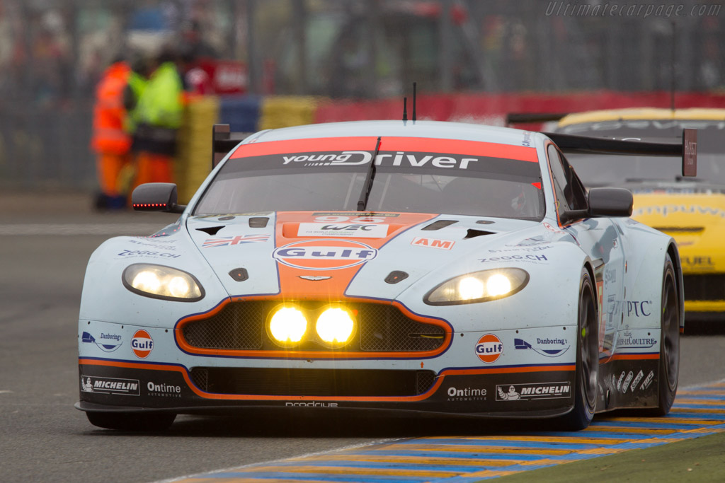 Allan Simonsen starting what would be his final lap    - 2013 24 Hours of Le Mans
