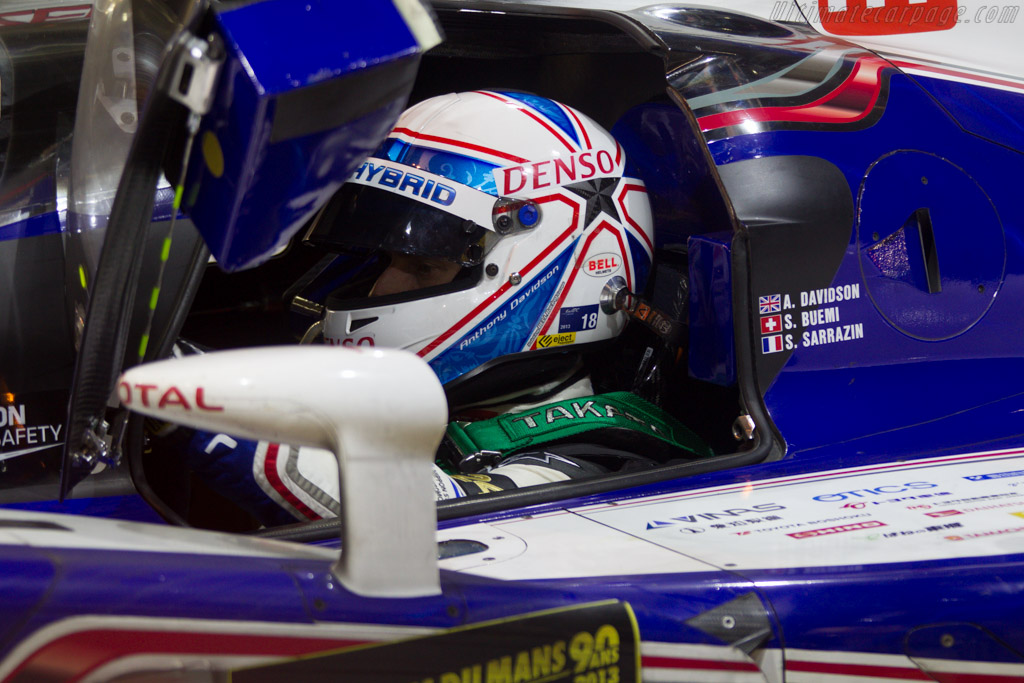 Anthony Davidson    - 2013 24 Hours of Le Mans