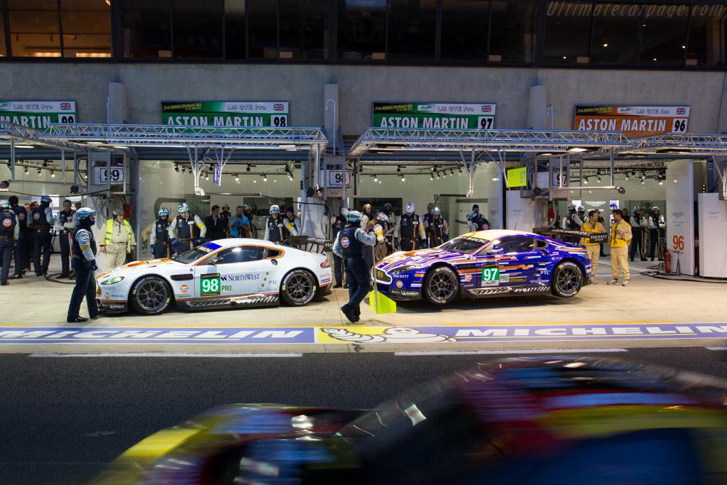 Aston Martin V8 Vantage GTE - Chassis: GTE-003   - 2013 24 Hours of Le Mans