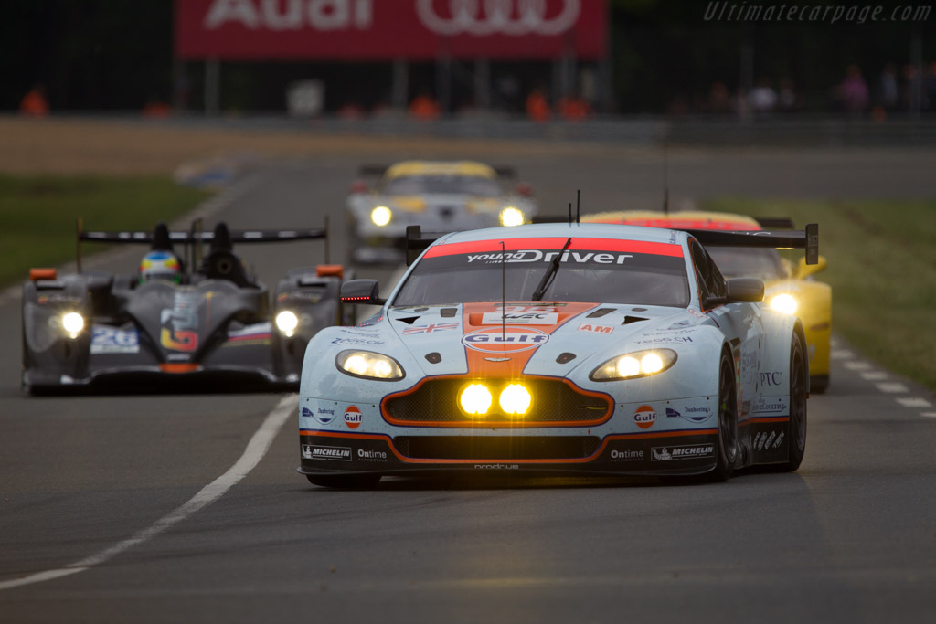 Aston Martin V8 Vantage GTE - Chassis: GTE-004   - 2013 24 Hours of Le Mans