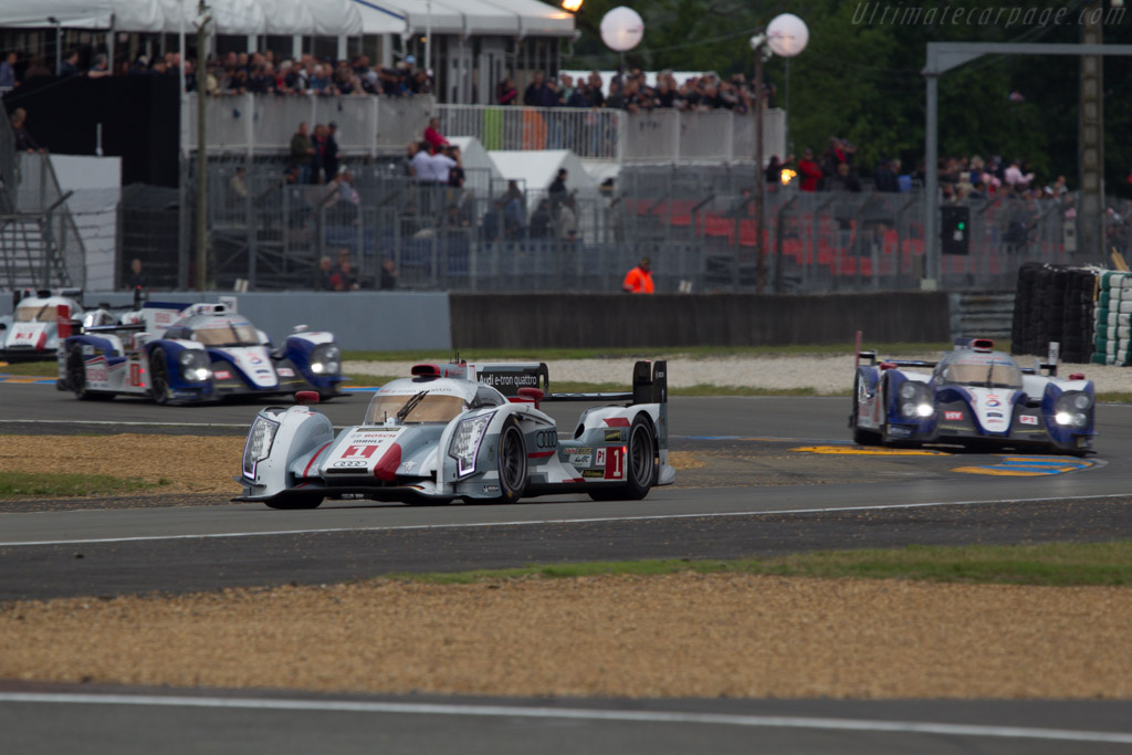 Audi R18 E Tron Quattro 2013 24 Hours Of Le Mans