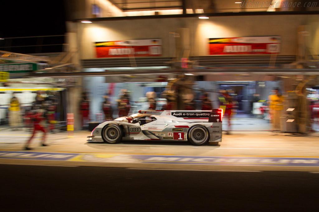 Audi R18 e-tron quattro    - 2013 24 Hours of Le Mans