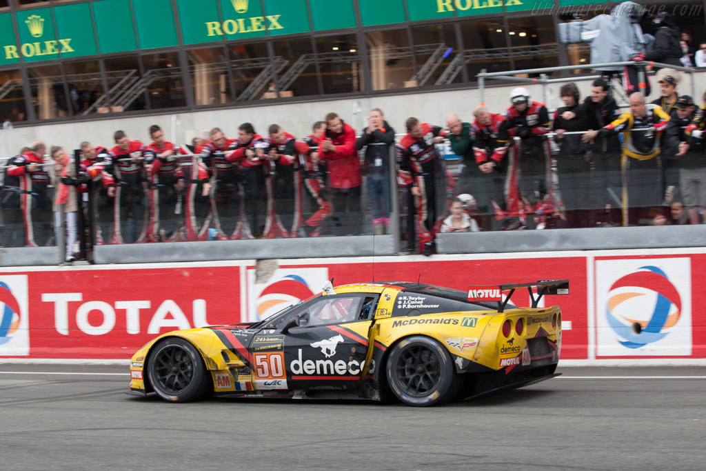Chevrolet Corvette C6.R    - 2013 24 Hours of Le Mans