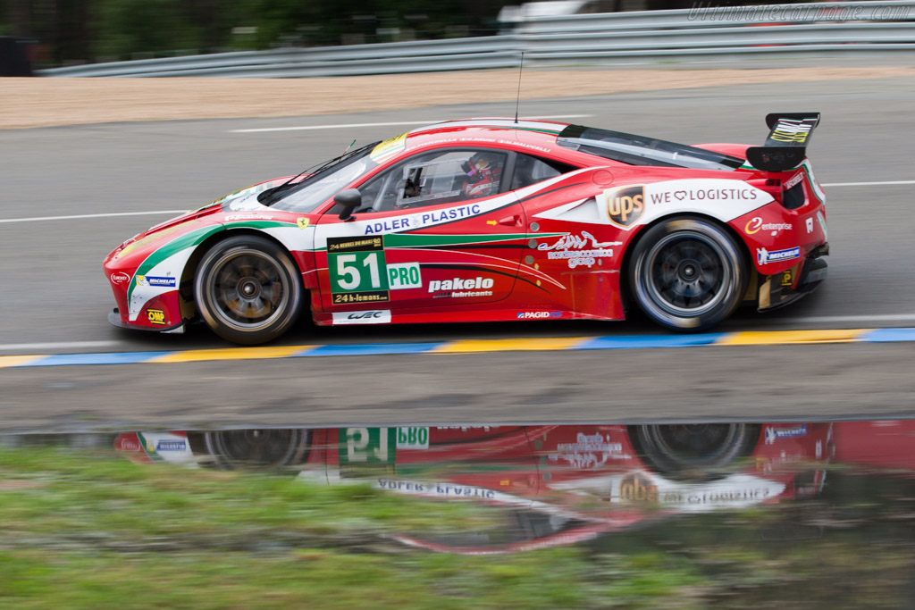 Ferrari 458 Italia GT    - 2013 24 Hours of Le Mans