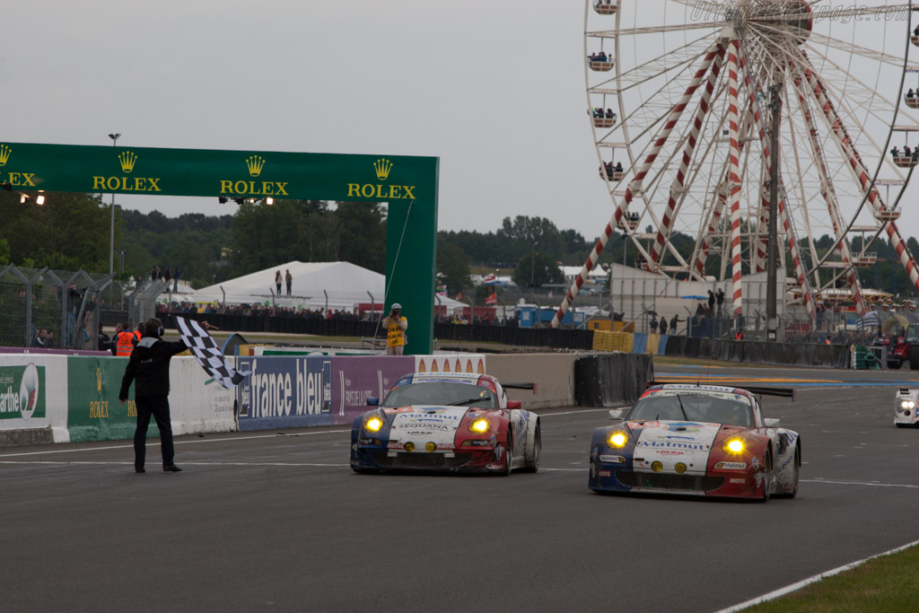 GTE Am winner    - 2013 24 Hours of Le Mans