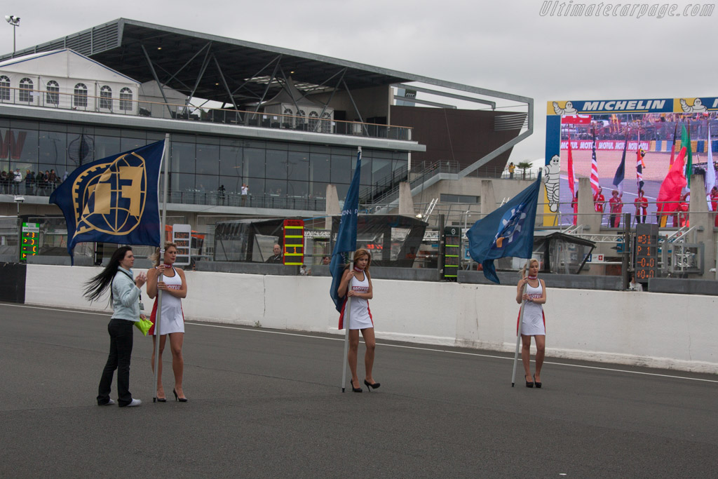 Grid Girls    - 2013 24 Hours of Le Mans