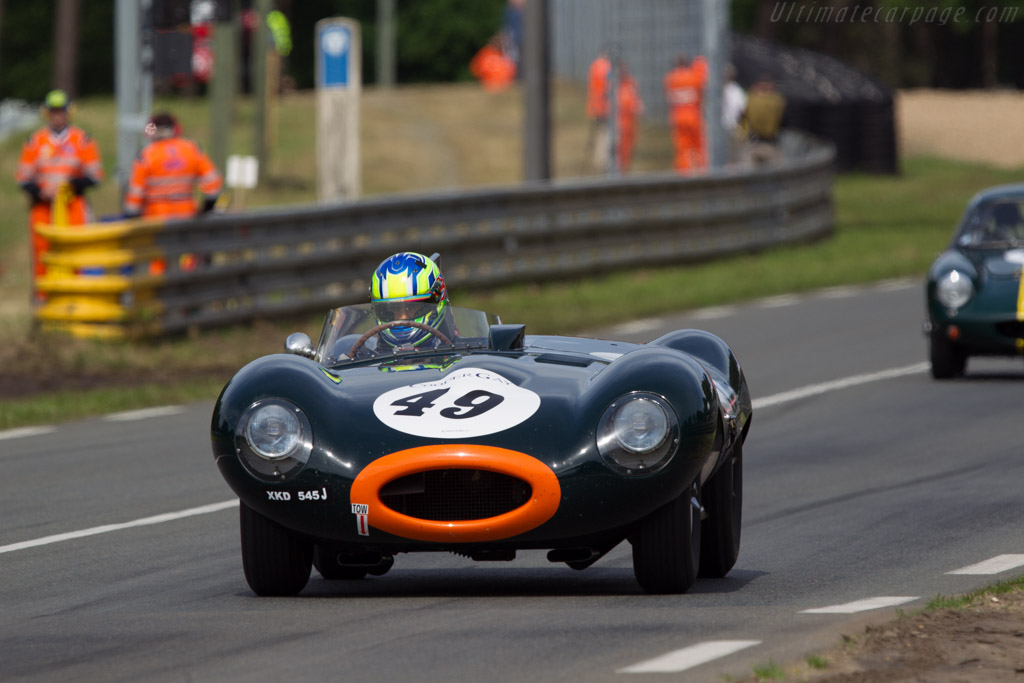 Jaguar D-Type - Chassis: XKD 545   - 2013 24 Hours of Le Mans