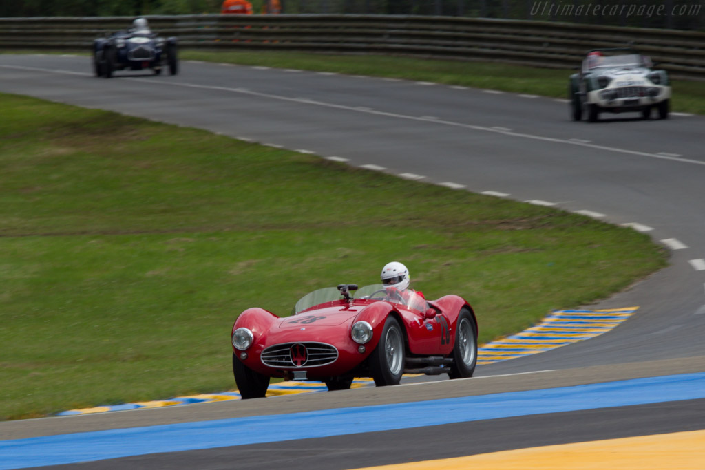 Maserati A6GCS/53 - Chassis: 2072   - 2013 24 Hours of Le Mans