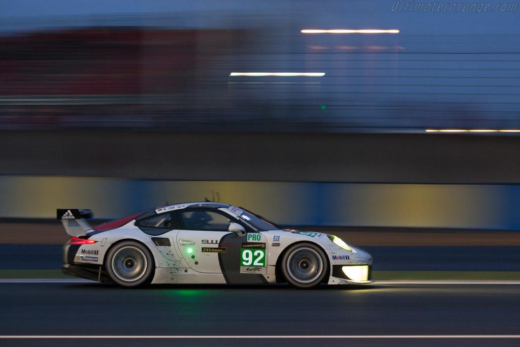 Porsche 911 RSR    - 2013 24 Hours of Le Mans