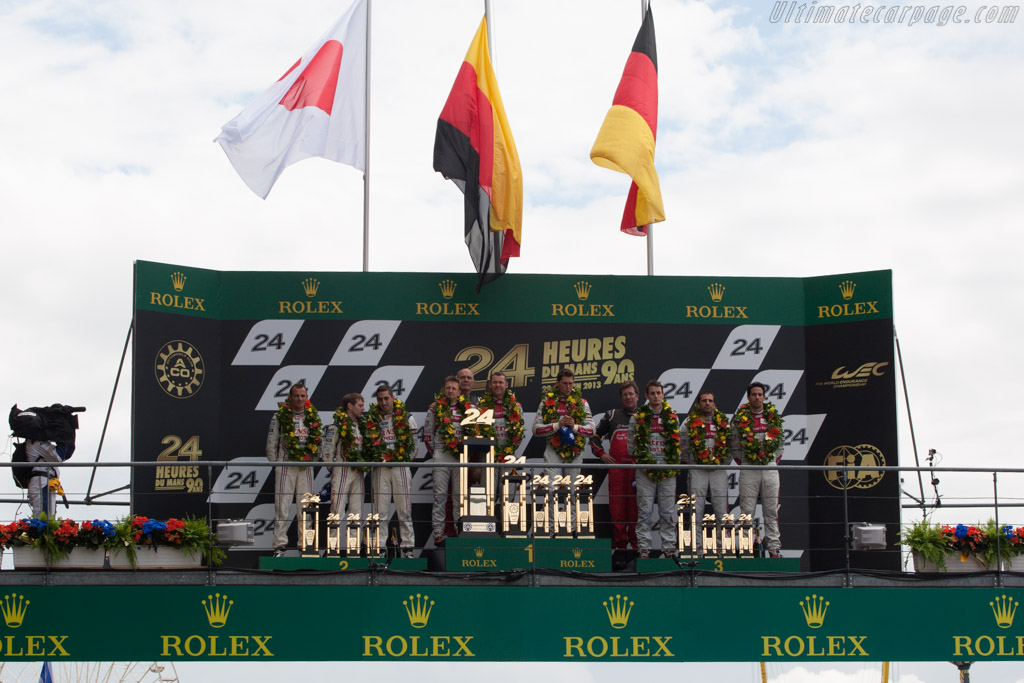 The winners    - 2013 24 Hours of Le Mans