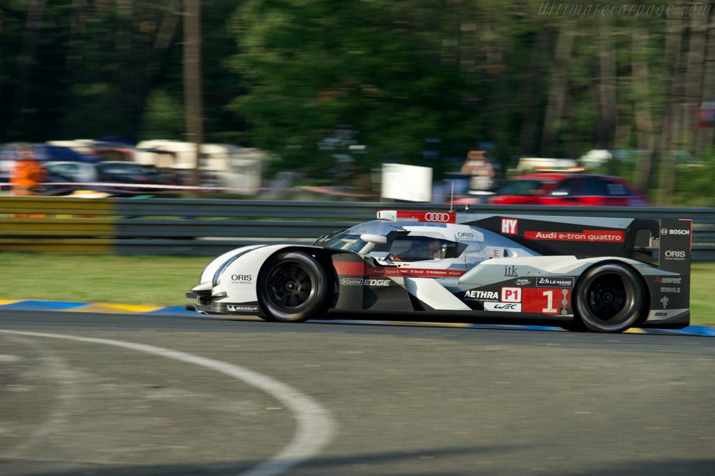 Audi R18 e-tron quattro    - 2014 24 Hours of Le Mans