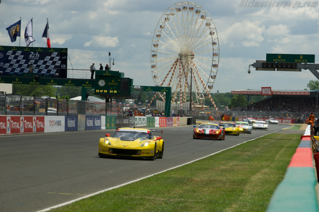 Chevrolet Corvette C7.R    - 2014 24 Hours of Le Mans