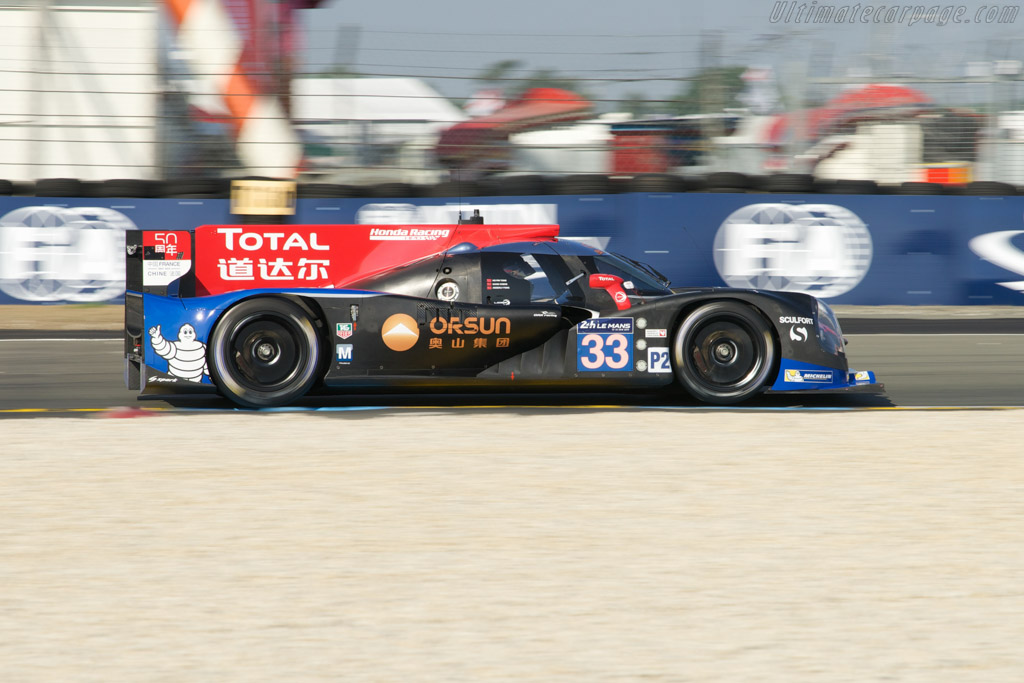Ligier JS P2 Honda - Chassis: OR02-03   - 2014 24 Hours of Le Mans
