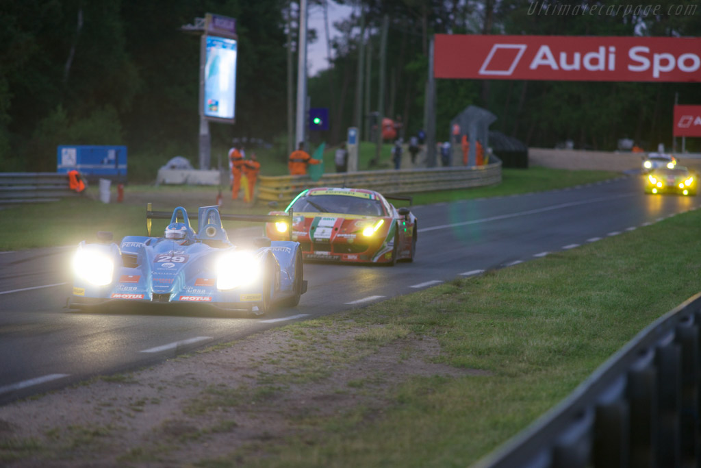 Morgan LMP2 Nissan    - 2014 24 Hours of Le Mans