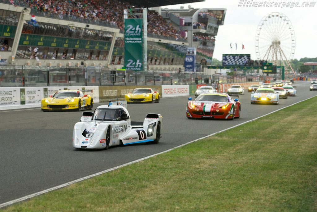 Nissan Zeod Rc 2014 24 Hours Of Le Mans