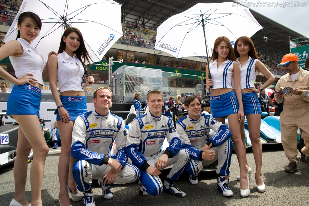 The grid    - 2014 24 Hours of Le Mans
