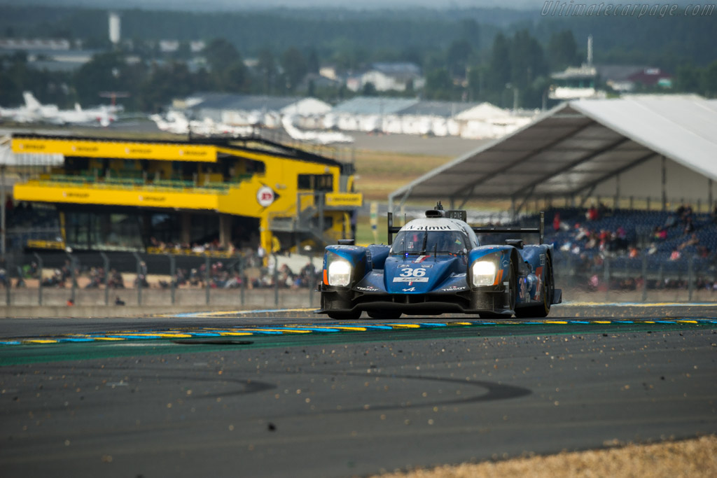 Alpine A460 Nissan - Chassis: 05-04 - Entrant: Signatech Alpine - Driver: Gustavo Menezes / Nicolas Lapierre / Stephane Richelmi  - 2016 24 Hours of Le Mans