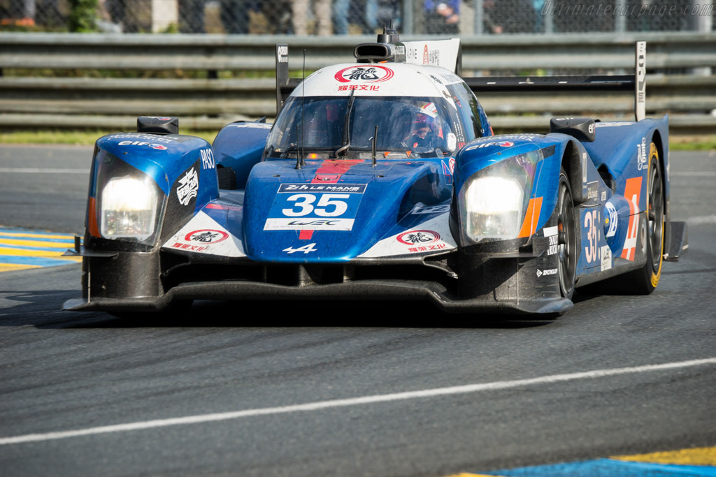 Alpine A460 Nissan - Chassis: 05-09 - Entrant: Baxi DC Racing Alpine - Driver: David Cheng / Ho-Pin Tung / Nelson Panciatici  - 2016 24 Hours of Le Mans