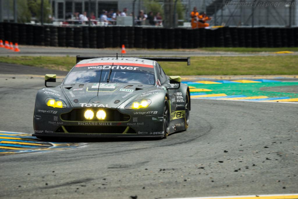 Aston Martin V8 Vantage GTE - Chassis: GTE-004 - Entrant: Aston Martin Racing - Driver: Nicki Thiim / Marco Sorensen / Darren Turner  - 2016 24 Hours of Le Mans