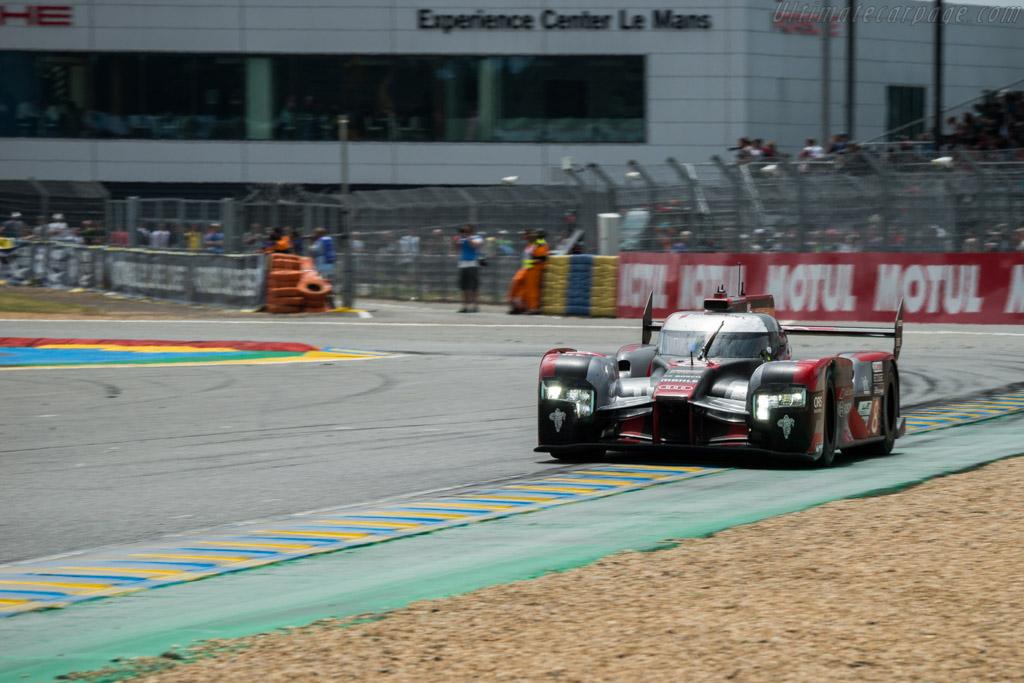 Audi R18 e-tron quattro  - Entrant: Audi Sport Team Joest - Driver: Lucas di Grassi / Loic Duval / Oliver Jarvis  - 2016 24 Hours of Le Mans