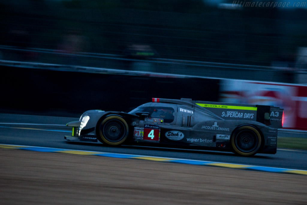 CLM P1/01 AER  - Entrant: ByKolles Racing Team - Driver: Simon Trummer / Oliver Webb / Pierre Kaffer  - 2016 24 Hours of Le Mans