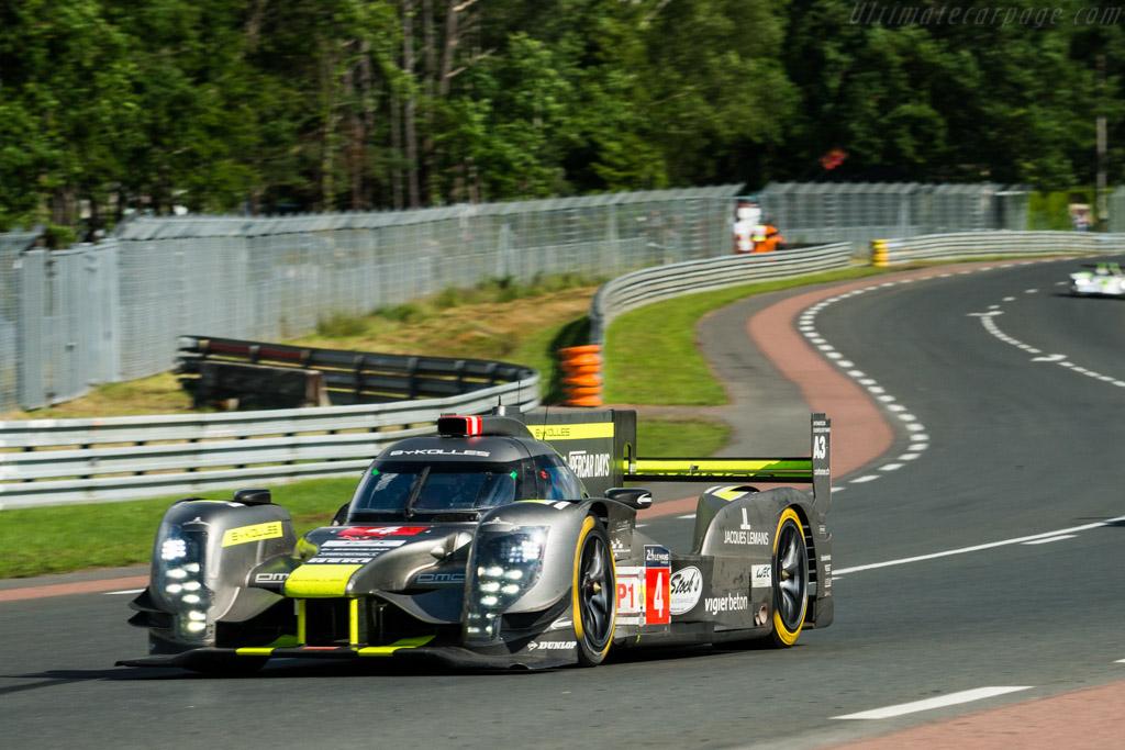 CLM P1/01 AER  - Entrant: ByKolles Racing Team - Driver: Simon Trummer / Oliver Webb / Pierre Kaffer  - 2016 24 Hours of Le Mans