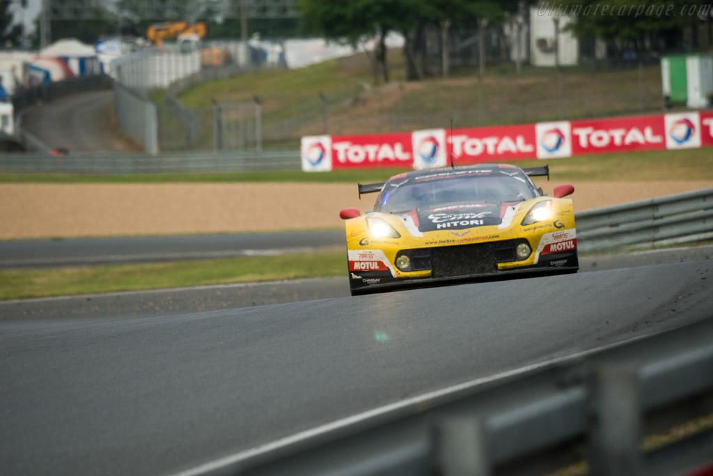 Chevrolet Corvette Z06  - Entrant: Larbre Competition - Driver: Yutaka Yamagishi / Pierre Ragues / Jean-Philippe Belloc  - 2016 24 Hours of Le Mans