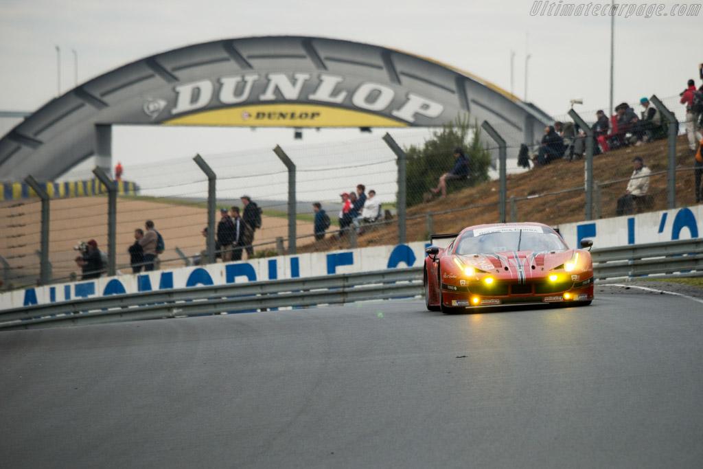Ferrari 458 Italia  - Entrant: Scuderia Corsa - Driver: William Sweedler / Townsend Bell / Jeffrey Segal  - 2016 24 Hours of Le Mans