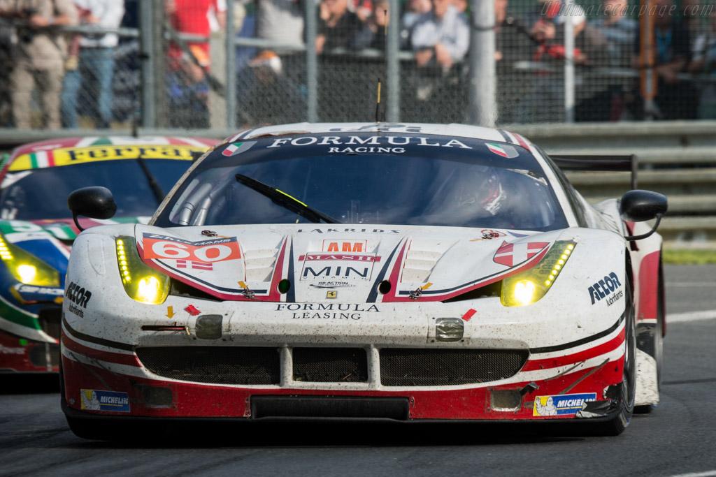 Ferrari 458 Italia  - Entrant: Formula Racing - Driver: Johnny Laurssen / Mikkel Mac Jensen / Christina Nielsen  - 2016 24 Hours of Le Mans