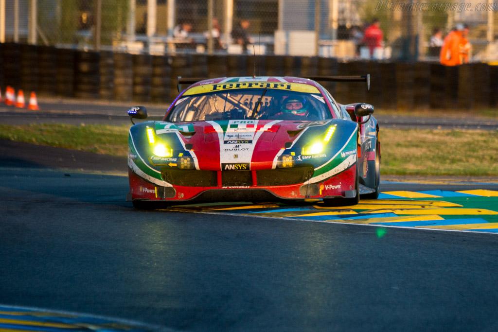 Ferrari 488 GTE  - Entrant: AF Corse - Driver: Davide Rigon / Sam Bird / Andrea Bertolini  - 2016 24 Hours of Le Mans