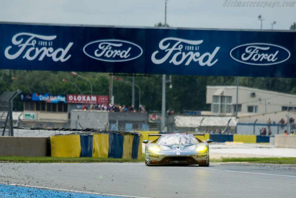 Ford GT  - Entrant: Ford Chip Ganassi Team UK - Driver: Marino Franchitti / Andy Priaulx / Harry Tincknell  - 2016 24 Hours of Le Mans