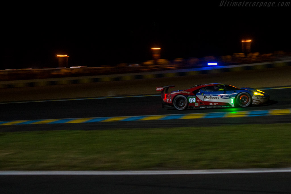 Ford GT  - Entrant: Ford Chip Ganassi Team USA - Driver: Richard Westbrook / Ryan Briscoe / Scott Dixon  - 2016 24 Hours of Le Mans