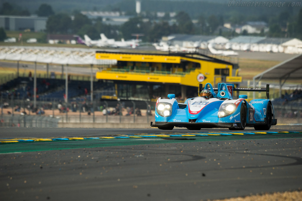 Morgan LMP2 Nissan  - Entrant: Pegasus Racing - Driver: Ines Taittinger / Remy Striebig / Leo Roussel  - 2016 24 Hours of Le Mans